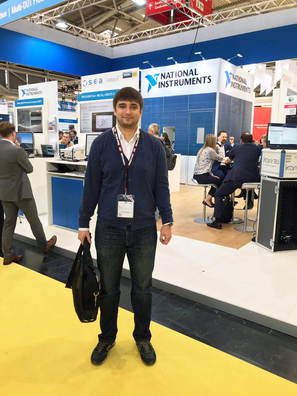 Employees of EZOCM examined innovations in the electronics industry at the fair Electronica-2018 in Germany